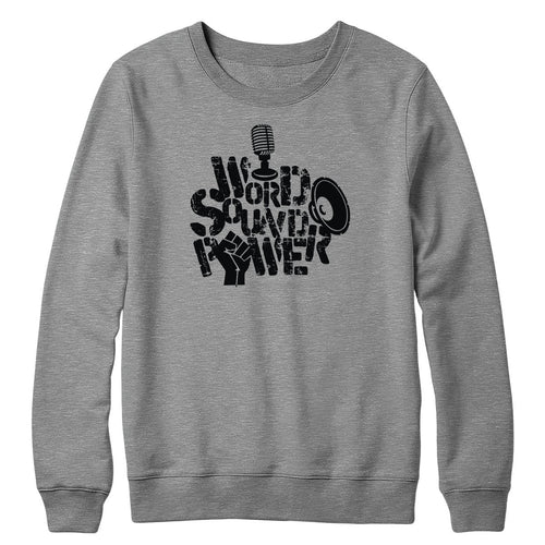 Word Sound Power Crewneck