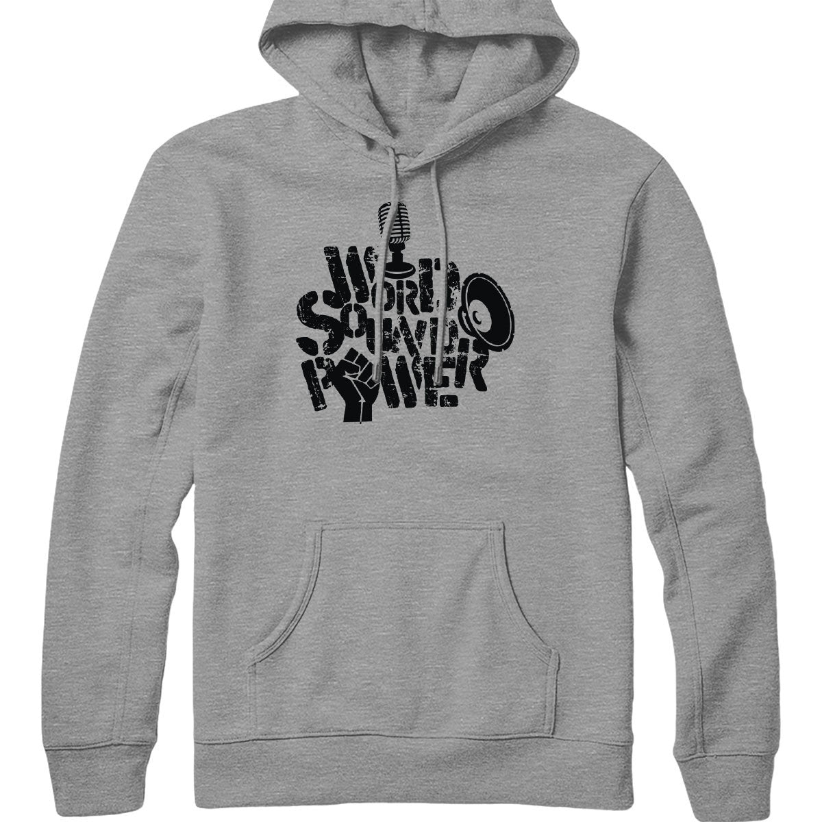 Word Sound Power Hoodie