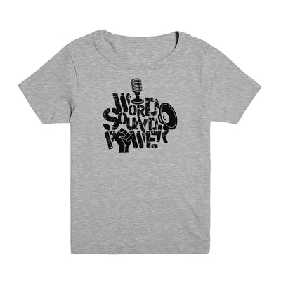 Word Sound Power Kid's Tee