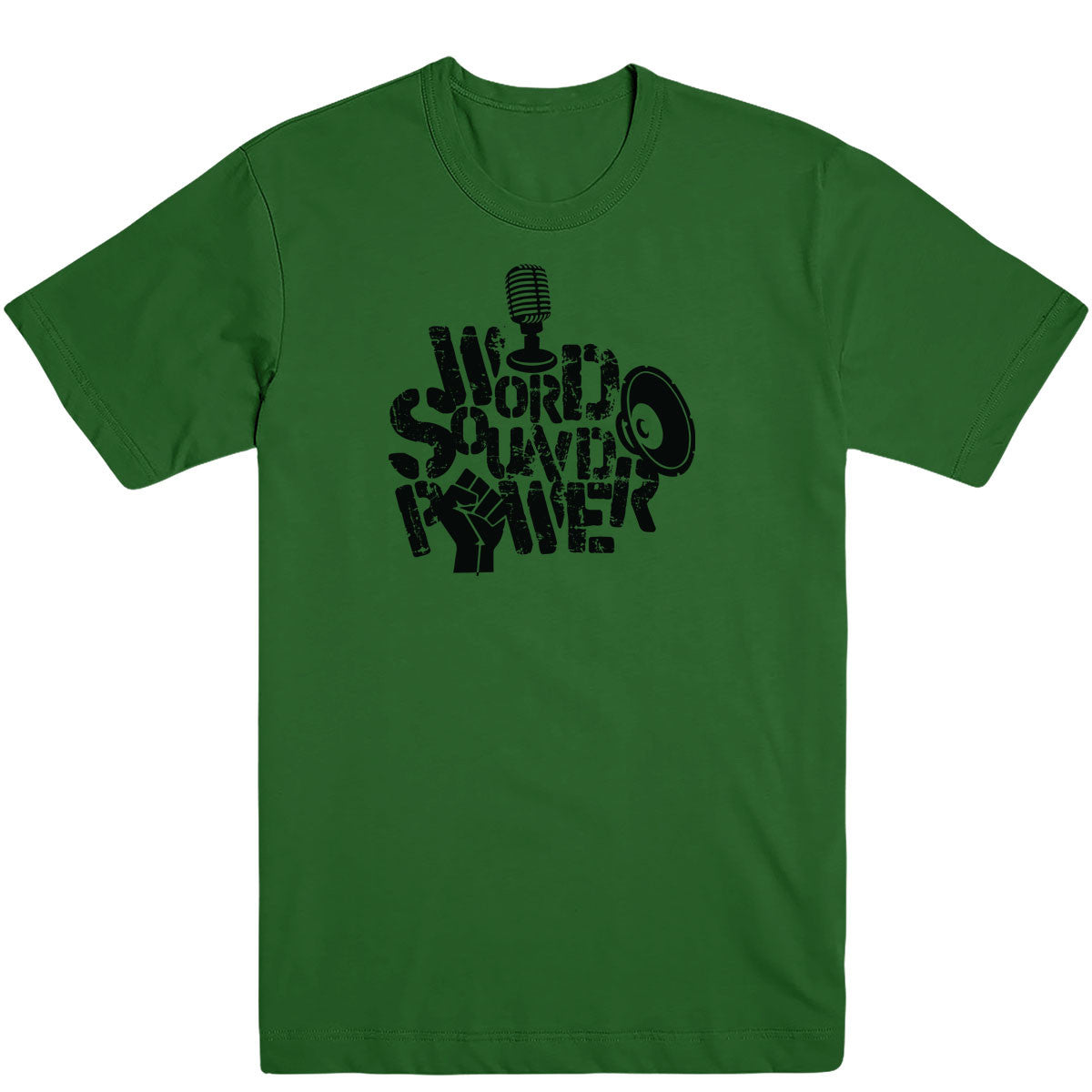Word Sound Power Men's Tee