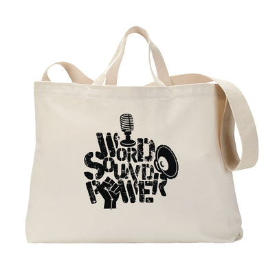 Word Sound Power Tote Bag