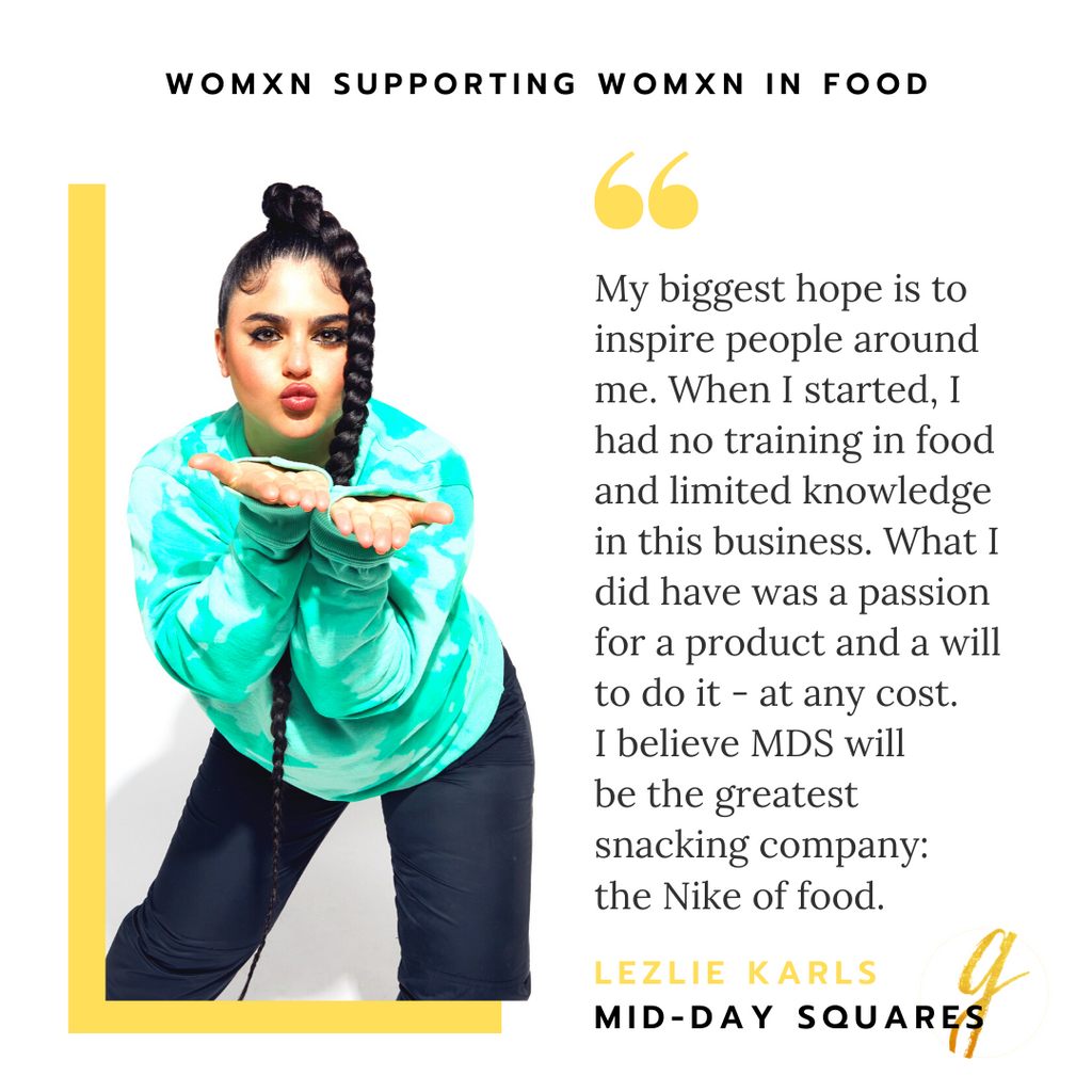 Lezlie Karls of Mid-Day Squares | Womxn Supporting Womxn In Food