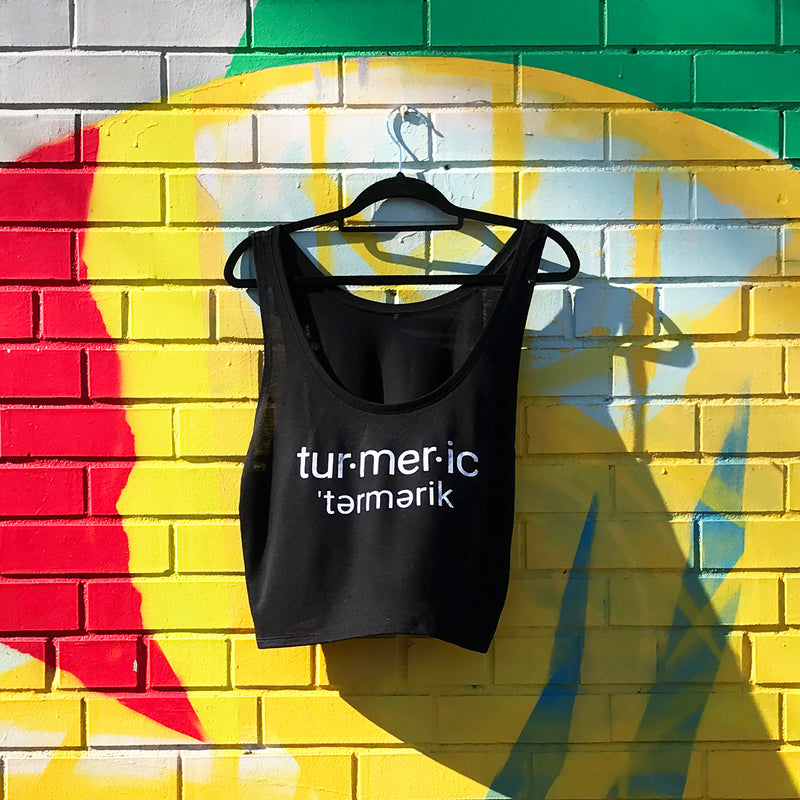 Black Turmeric Crop Top