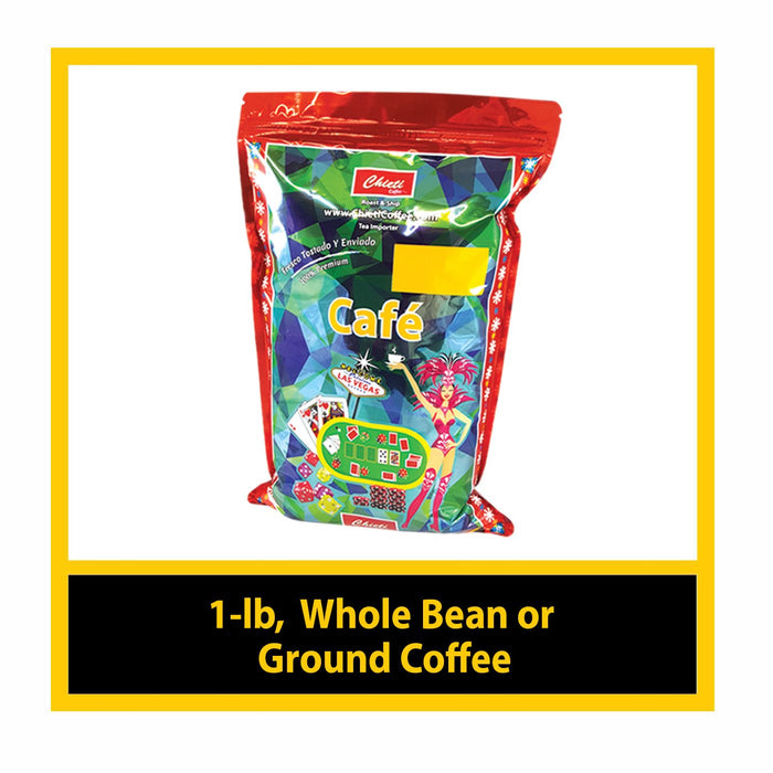 1-lb ( Select your Choice of Coffee )