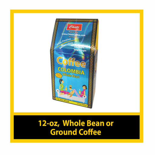 Colombian Coffee Medium Roast (12 - oz)