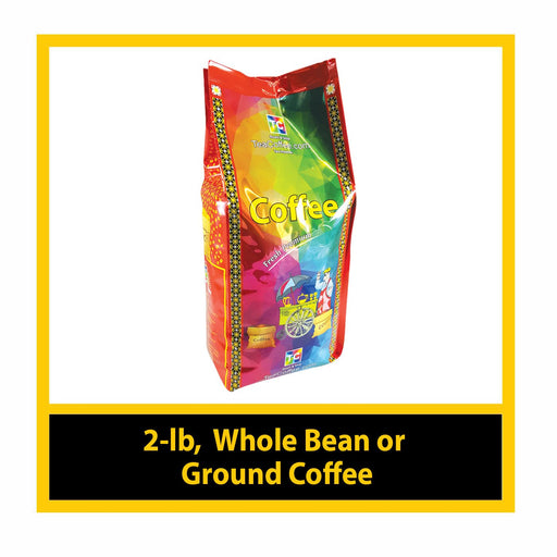 2-lb, Whole Bean / Ground Coffee
