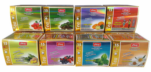 Organic tea box -  15 count ( Select your Choice of Organic tea )