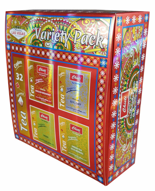Variety Pack Teas 32 pcs (Black Tea-Green Tea)