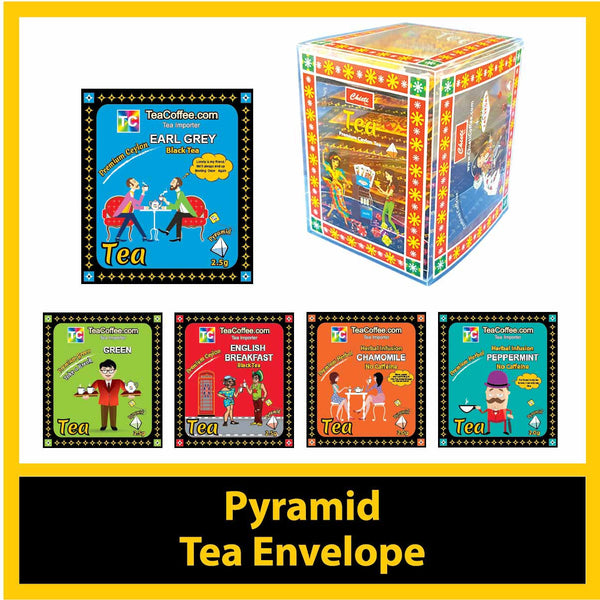 Premium Pyramid (Whole Leaf) Ceylon Tea