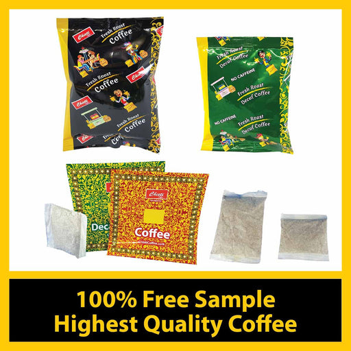 Coffee Portion pack & Filter pack