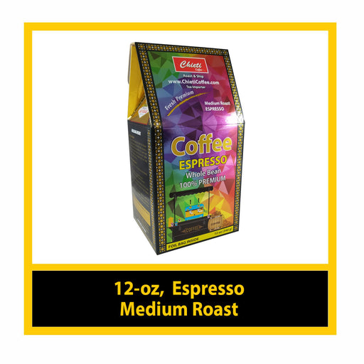 Italian Espresso Medium Roast (12 - oz)