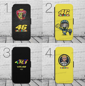 VALENTINO ROSSI MOTO WALLET Phone Case Cover iPhone / Samsung All models - EpicPhoneCase