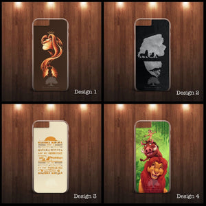 THE LION KING SIMBA DISNEY CARTOON PHONE CASE COVER FOR ALL SAMSUNG and APPLE - EpicPhoneCase