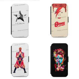 DAVID BOWIE FLIP WALLET Phone Case Cover All iPhone & Samsung - EpicPhoneCase