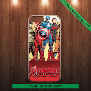 MARVEL COMIX AVENGERS Hard Case Cover for iPhone & Samsung All Models - EpicPhoneCase