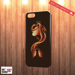 Disney Lion King Simba Mufasa Cartoon Case Cover for iPhone Phone Models(3D Case - EpicPhoneCase