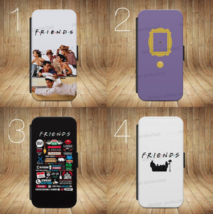 FRIENDS TV SITCOM COMEDY WALLET Phone Case Cover iPhone / Samsung All models - EpicPhoneCase