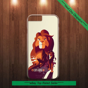 THE LION KING SIMBA DISNEY CARTOON PHONE CASE COVER FOR ALL SAMSUNG and IPHONE - EpicPhoneCase