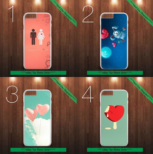 VALENTINE'S DAY LOVE HEART CASE COVER FOR IPHONE 7 PLUS SAMSUNG S7 MODISH - EpicPhoneCase
