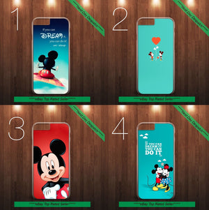 Mickey Mouse Disney Quote Hard Case Cover for iPhone & Samsung All Models - EpicPhoneCase