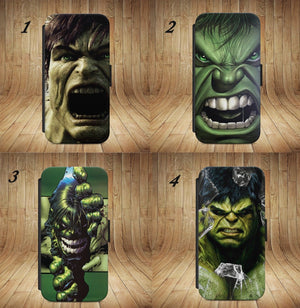 Hulk Avengers Marvel Comic FLIP PHONE CASE COVER  FOR iPHONE & SAMSUNG ALL MODEL - EpicPhoneCase