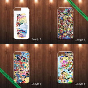 Walt Disney cartoons characters phone case cover ALL  Apple iPhone & Samsung - EpicPhoneCase