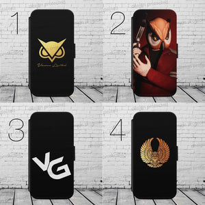 Vanoss Gaming VG Owl Logo FLIP/WALLET Phone Case Cover iPhone/Samsung All models - EpicPhoneCase
