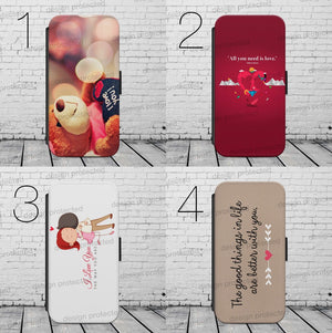 Valentines Day WALLET Phone Case Cover iPhone / Samsung All models - EpicPhoneCase