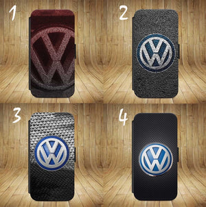 VW Golf Badge Gti FLIP WALLET Phone Case Cover iPhone / Samsung All models - EpicPhoneCase