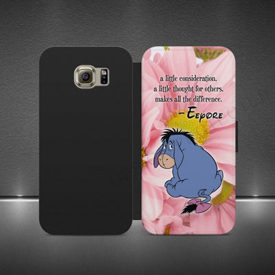 first rate 90e94 c9380 DISNEY EEYORE WINNIE POOH-WALLET FLIP PHONE CASE COVER IPHONE X ...