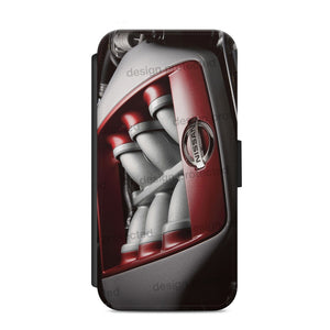Nissan GTR Nismo JDM wallet flip Cover for iPhone 44s 5s 66s plus 7 Samsung