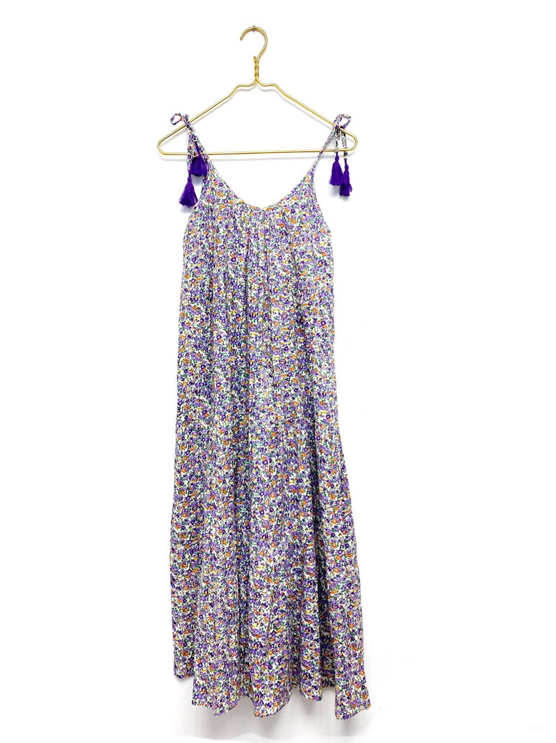 PRE-ORDER Lavender Field Tiered Maxi Dress