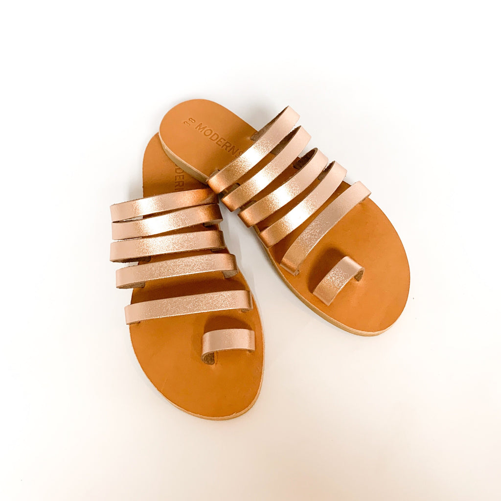 Rose Gold Maya Sandal