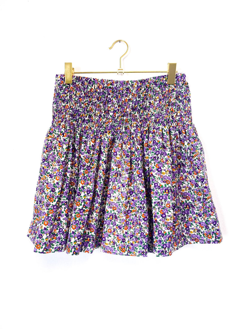 Lavender Field Mini Skirt