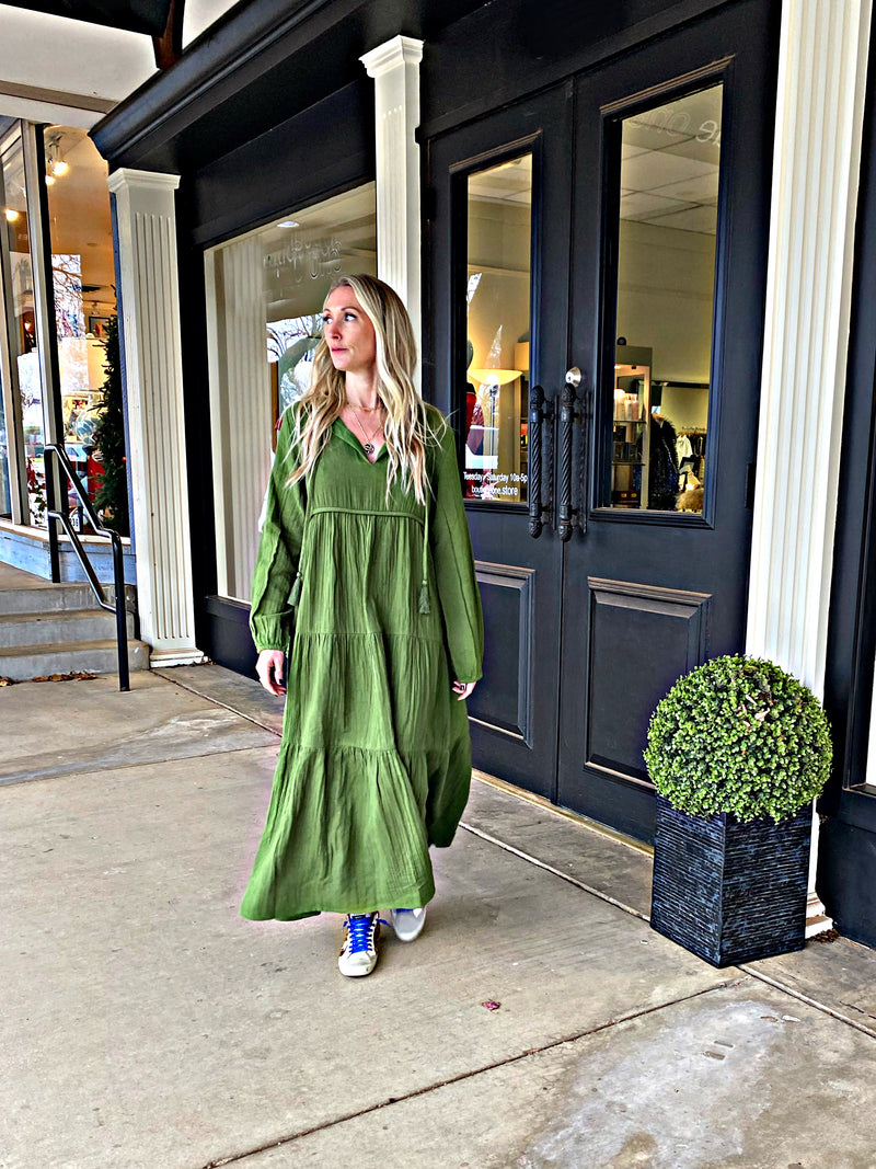 Olive Anywhere Frock