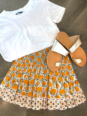 TANGERINE Mini Skirt