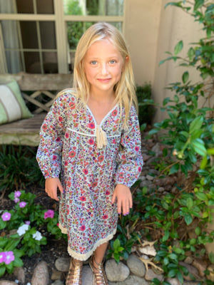 The RILEY Littles Caftan