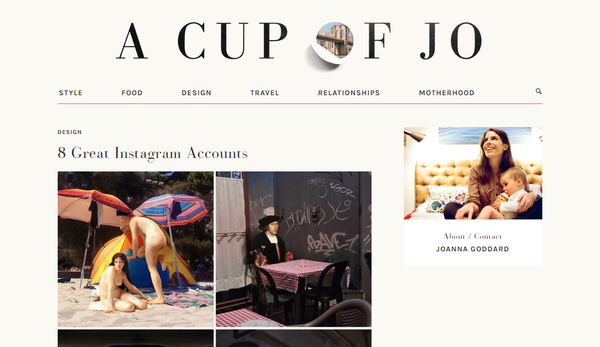 A Cup of Jo Blog
