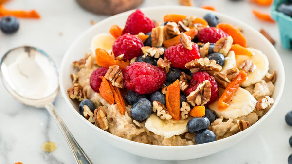 Oatmeal with Fruits & Yogurt