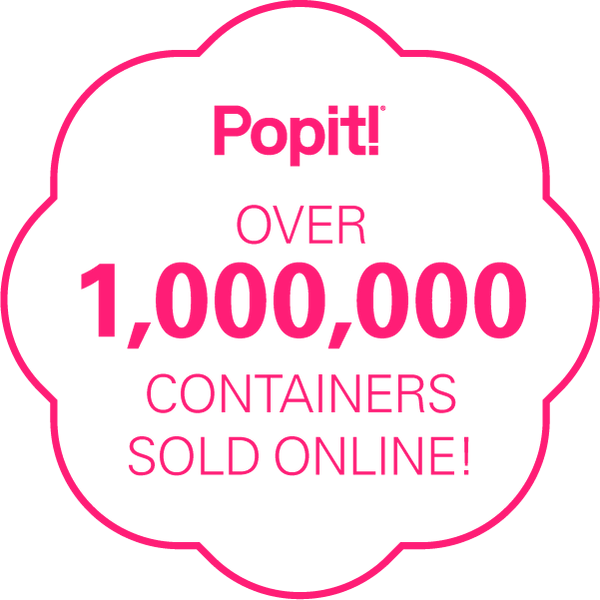 Popit! – Over 1,000,000 Containers Sold Online!