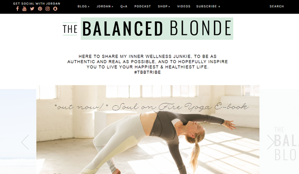 The Balanced Blonde Blog