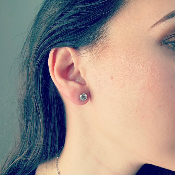 Glint Earrings (5mm Stone)