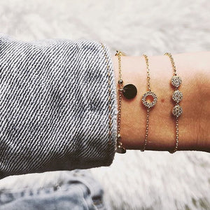 Stacking Bracelets - Gold Vermeil