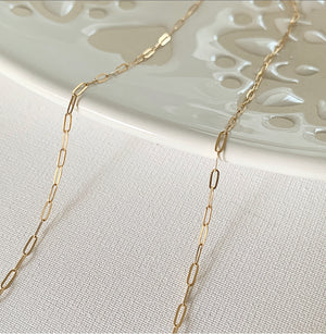Carina | Gold Filled Chain - 18 Inch