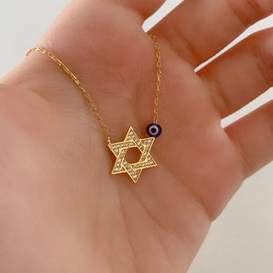 Star of David Necklace | Gold Vermeil