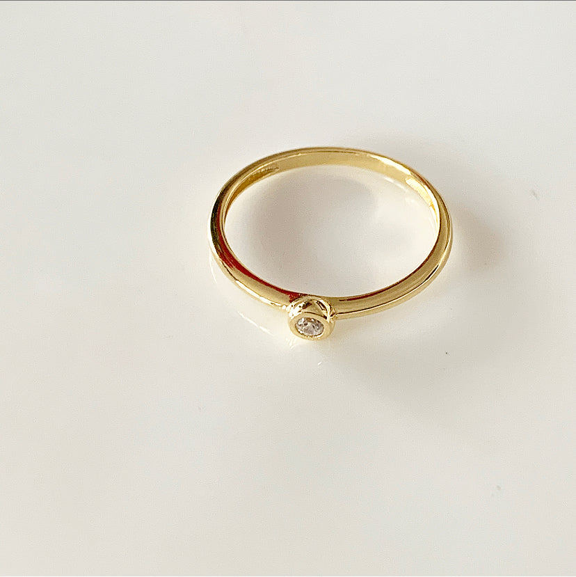 Solo Ring | Gold Vermeil