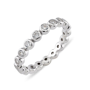 Glint Eternity Band Ring