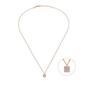 Mini Square Necklace