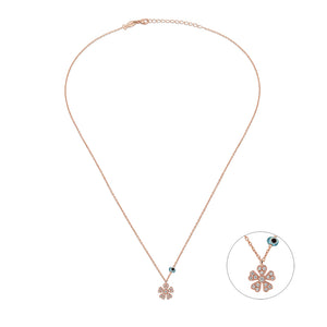 5 Petals Flower Necklace