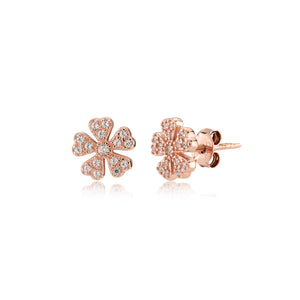 5 Petals Flower Earrings